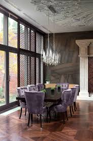 Purplediningroom Interior Design Ideas - Purple dining room