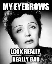 Eyebrow Meme - don t look so surprised all the time fix your eyebrows modern