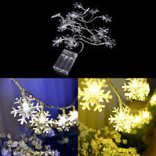 snowflake lights ebay