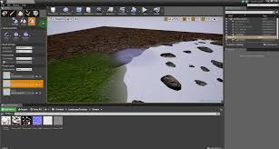 Map Program Landscape Material Not Working Normal Map Displacement Map Ue4