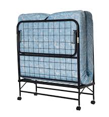 Foldable Twin Bed Dhp Folding Roll Away Guest Bed With Mattress Walmart Canada