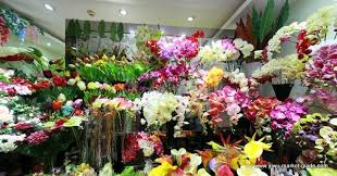 Flowers Wholesale Artificial Flower Showrooms Yiwu China 7