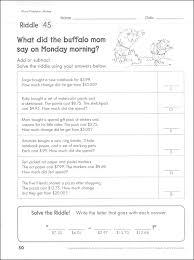 solve the riddle math practice fractions u0026 decimals 052391