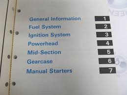 507449 omc johnson evinrude commercial outboard service manual 25