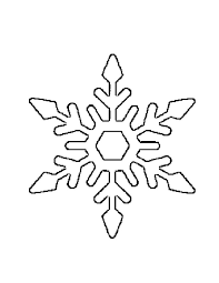 62 snowflakes images snowflake template