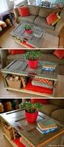 Diy Storage Coffee Table by Best 25 Homemade Coffee Tables Ideas On Pinterest Diy Table