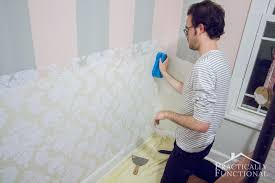 Wainscoting Pre Made Panels - diy wainscoting with textured wallpaper