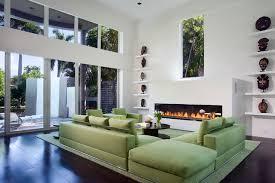 Green Sofa Living Room Green Sofa Contemporary Living Room Miami By Toby Zack Designs