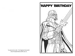 star wars printable birthday card star wars funny birthday card