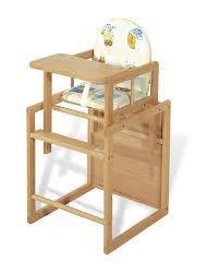 chaise en bois pour bébé ouistitipop