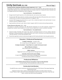 Client Services Manager Resume Highlights Of Qualifications Customer Service Resume Functional
