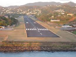 St Lucia Map George F L Charles Airport Wikipedia