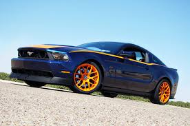 Black And Orange Mustang Grabber Blue With Orange Stripes Page 2 The Mustang Source