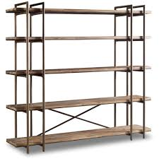 Hooker Bookcases Scaffold Bookcase Entertainment Console With 5 Shelves By Hooker