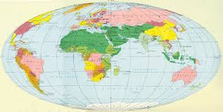 Map Of The World Countries Map