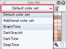 skin color set clip studio paint clip studio net