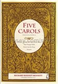 richard rodney five carols satb