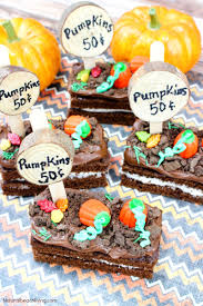 Easy To Make Halloween Snacks by How To Make Easy Pumpkin Patch Snacks Halloween Snack Ideas For