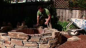 How To Make A Fire Pit In Your Backyard by How To Make A Backyard Fire Pit Hgtv