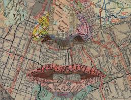 Map Of Dallas by Totally In Awe Of The Detailed Map Collage Work Of Dallas Texas
