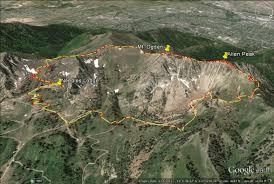 Map Of Ogden Utah by On A Hike Mt Ogden Snowbasin Ski Resort