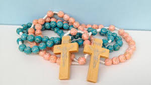 cheap rosaries coloured wooden rosary cheap rosaries by gifted memories faith