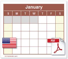 2017 us calendar printable free 2017 us calendar pdf printable calendar