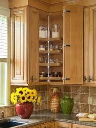 corner kitchen cabinet super susan storage solution one day