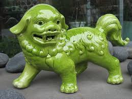 green foo dogs foo dogs protectors of your sanctuary foo dog dog and house