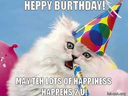 Funny Cat Birthday Meme - funny birthday images pictures photos quotes and funny page 3