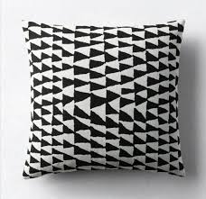 patio furniture and decor trend bold black and white