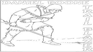daniel boone coloring page 2017 with pagesjpg wisacare com