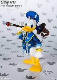 sh figuarts kingdom hearts donald duck preview toyark