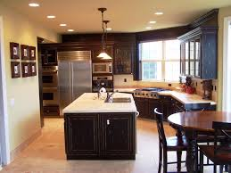 beautiful kitchen remodeling ideas with l shape and track lighting