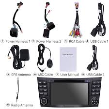 gps android 7 1 radio dvd player for 2002 2008 mercedes benz e