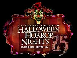 halloween horror nights 25 map attractions entertaining orlando