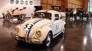vintage volkswagens on display at lemay car museum