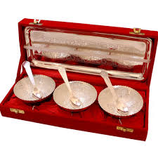 Cheap Home Decor Items Online German Silver Tray Set Handicraft Items Online Handicrafts Online
