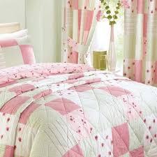 Pink Pleated Curtains Dreams U0027n U0027 Drapes Patchwork Pencil Pleat Curtains Pink 66 X 72
