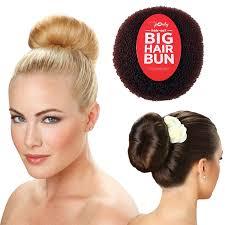 hair bun hair so 6 inches wide big hair bun