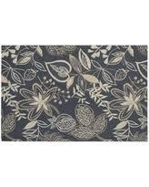 Nourison Somerset Floral Rug Bargains On Nourison Floral Mosaic Polyester Rug