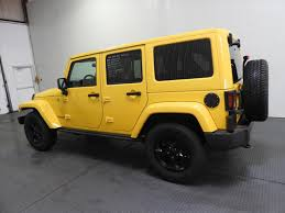 jeep rubicon yellow yellow jeep wrangler in pennsylvania for sale used cars on