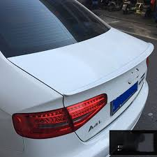 audi a4 spoiler for audi a4 b8 b9 2009 2010 2011 2012 2013 2014 2015 2016 abs