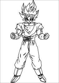 18 dbz coloring pages images dragon ball