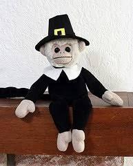 gc386b5 happy thanksgiving helper monkey traditional cache in