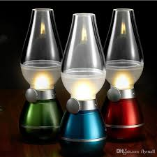rechargeable light for home 2018 led blowing control retro kerosene l usb rechargeable l