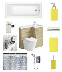 Virtual Bathroom Makeover - small bathroom makeover final reveal the design sheppard