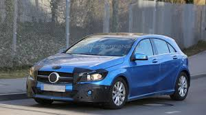 green mercedes a class 2016 mercedes benz a class spied with minimal camouflage