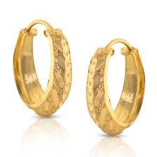 gold earrings images elisha glint gold earrings jewellery india online caratlane