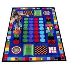 Childrens Area Rugs Hopscotch Rug Kidsroom Montessori Daycare Gifts
